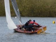 shiny dinghy