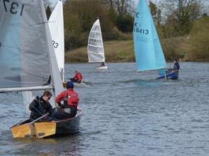 skilful sailing
