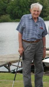 Arthur Jones Founder O f Gresford Sailing Club AT the 50th anniversary