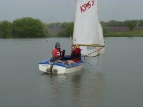 Ian And Alan set sail for the start